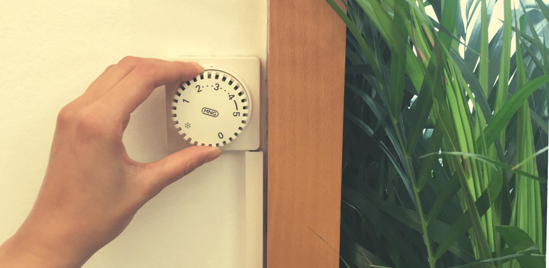 Eine typischer Thermostat