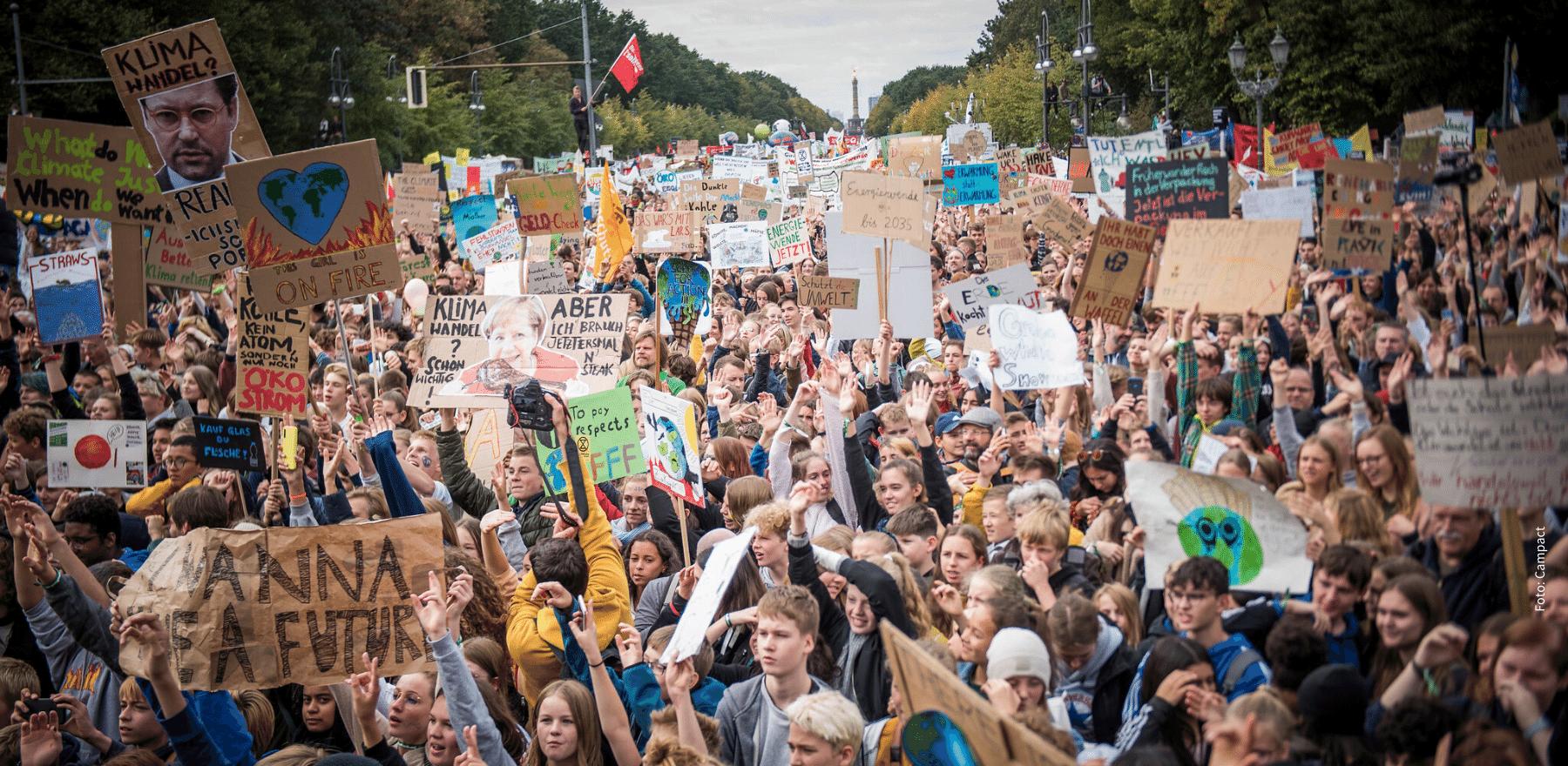Am 20.09. ist #Klimastreik - auch der NABU ist dabei