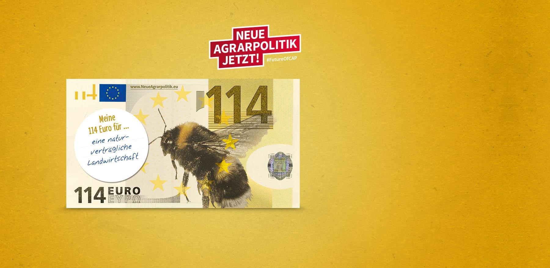 Neue Agrarpolitik jetzt!