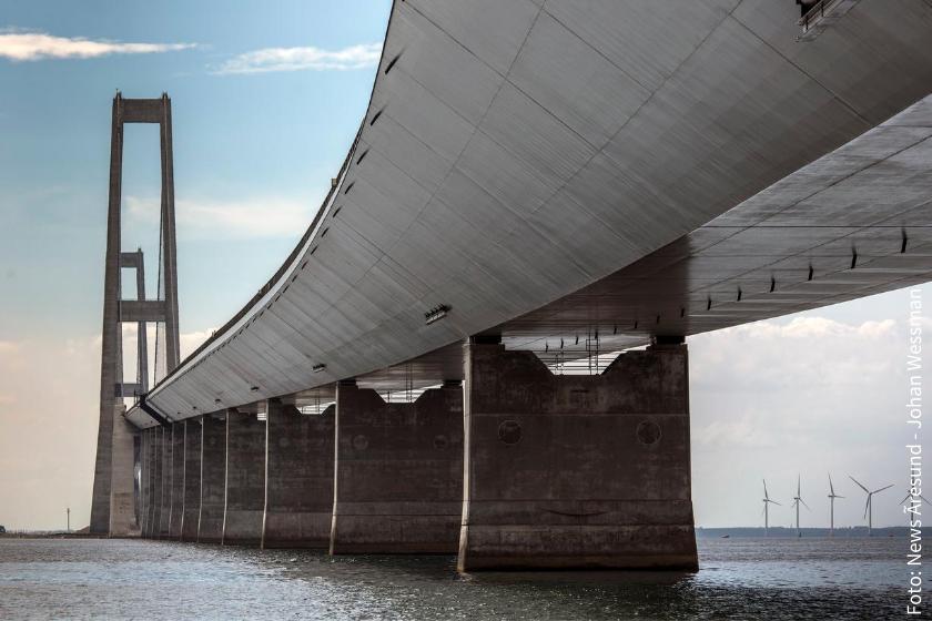 Mit der Storebaeltsbrücke gibt es bereits eine feste Verbindung zwischen dem europäischen Festland und den dänischen Inseln.