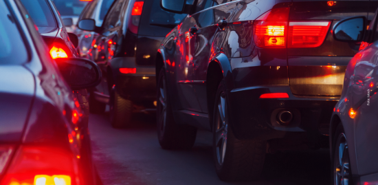 Dichter Verkehr - mit Uber kann es noch schlimmer kommen