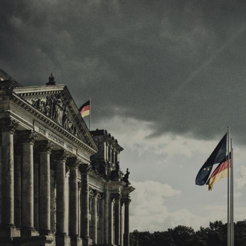 Reichstag in Berlin - Sitz des Deutschen Bundestags