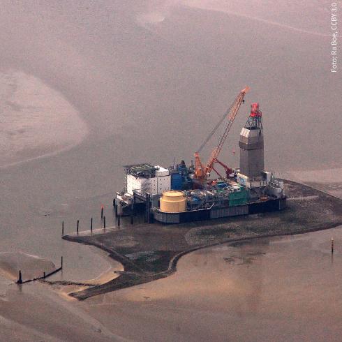 Mitten im Nationalpark Wattenmeer wird nach Öl gebohrt - das darf nicht sein!