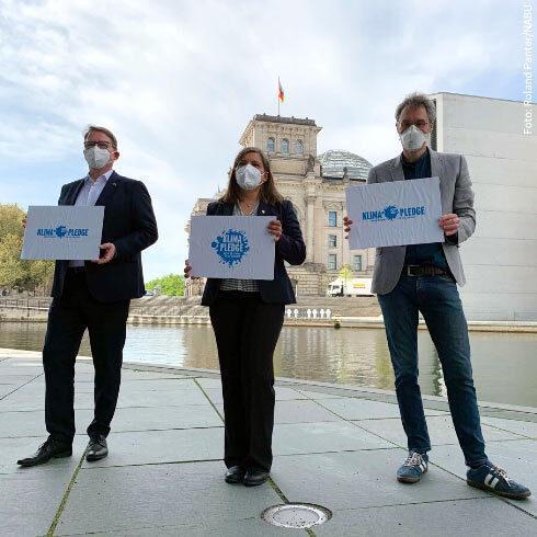 Viele Organisationen, eine Aktion: Der Klima-Pledge